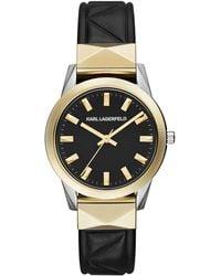 Karl Lagerfeld - Kl3802 Ladies Strap Watch - Lyst