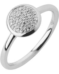 Links of London - Diamond Essentials Pave Ring - Ring Size N - Lyst