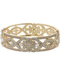 Mikey - Spiral Twist Crystal Filigree Bracelet - Lyst