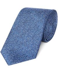 Chester Barrie - Plain Texture Tie - Lyst
