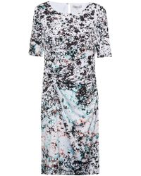 Great Plains | Miquita Marble Ruched Dress | Lyst