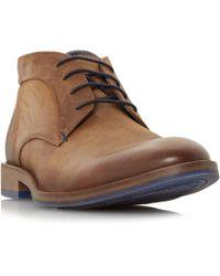 Dune - Claybourne Contrast Heel Chukka Boots - Lyst