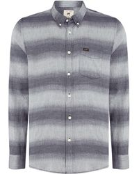 Lee Jeans - Slate Button Down - Lyst