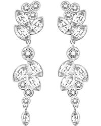 Swarovski - Diapason Pierced Earrings - Lyst