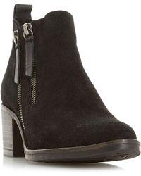 Dune - Pikton Double Zip Ankle Boots - Lyst