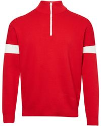 French Connection - Men's Lakra Ski Knit Funnel Jumper - Lyst