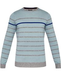 Ted Baker - Men's Britnay Striped Cotton-blend Jumper - Lyst