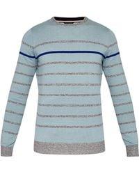 Ted Baker - Striped Cotton-blend Jumper - Lyst