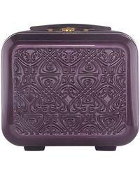 Biba - Logo Purple Vanity Case - Lyst