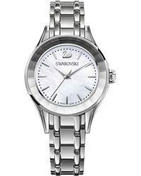 2d4e33232f99 Swarovski Memories Crystal-strap Watch in Metallic - Lyst