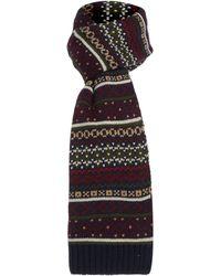 Howick - Fairisle Knit Scarf - Lyst