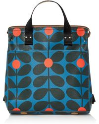 Orla Kiely - Sixties Stem Small Backpack - Lyst