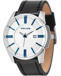 Police - Gents Governer Strap Watch - Lyst