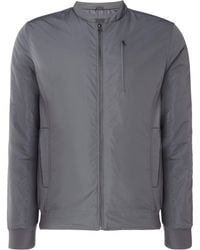 Label Lab - Men's Mira Lightweight Self Collar Bomber - Lyst