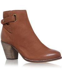 Carvela Kurt Geiger - Smart High Heel Ankle Boots - Lyst