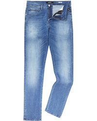 Replay - Grover Mid Wash Denim Jeans - Lyst