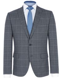 Paul Costelloe - Men's Ewan Checked Wool Suit Jacket - Lyst