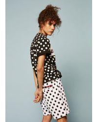 House of Holland | Umbro Polka Dot Flock Branding Shorts | Lyst