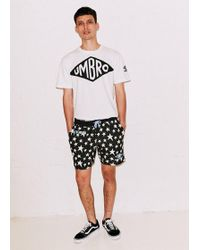 House of Holland | Black Star Shorts | Lyst