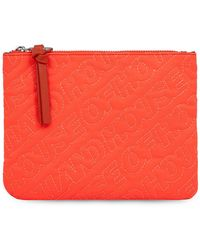 House of Holland - 'hoh' Neon Orange Embroidered Pouch - Lyst