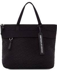 House of Holland - 'hoh' Black Embroidered Tote - Lyst