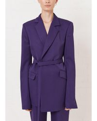 House of Holland - Purple Tailored Suit Jacket - Lyst
