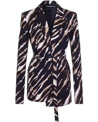 House of Holland - Zebra Tie Dye Tailored Jacket - Lyst