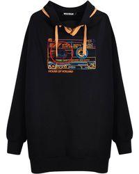 House of Holland - Cassette Oversized 2-way Sweatshirt - Lyst