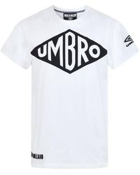 House of Holland - X Umbro White Vintage Tee - Lyst
