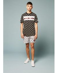 House of Holland - Umbro Polka Dot Flock Branding Shorts - Lyst