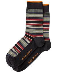 Nudie Jeans - Olsson Mixed Stripe Socks - Lyst