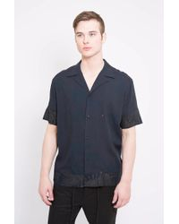 Chapter - Abra Short Sleeve Floral Woven - Lyst