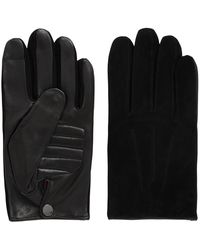 HUGO - Cashmere-lined Nappa Leather Gloves With Touchscreen Function - Lyst