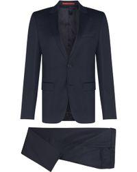 HUGO - 'aeron/hamen' | Slim Fit, Virgin Wool Suit - Lyst