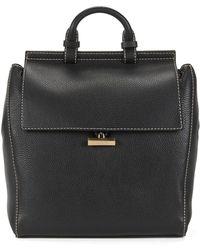 BOSS - Full-grain Leather Backpack   Soft Backpack - Lyst
