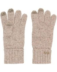 BOSS Orange - Wool-blend Gloves With Touchscreen Functionality - Lyst