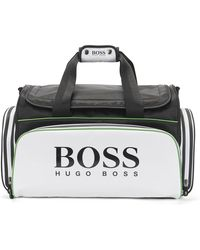 BOSS | Weekender In A Fabric Blend: 'golf_holdall' | Lyst