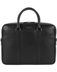 BOSS - Italian Calfskin Workbag | Signature S Doc - Lyst