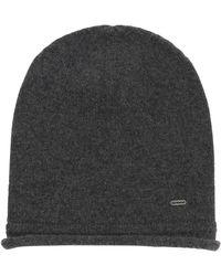 HUGO - Mottled Hat In Cashmere Wool: 'women-x 458' - Lyst