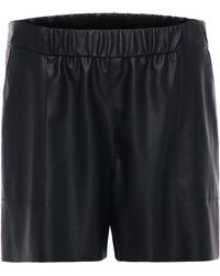 BOSS Orange - Comfort-fit Shorts In Leather Effect: 'salony' - Lyst