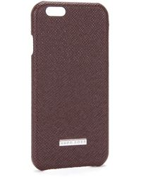 BOSS - Smartphone Cover For The Iphone 6: 'signature_phone 6' - Lyst