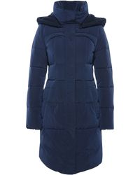 BOSS Orange - Fitted And Quilted Coat With Detachable Hood: 'osenna' - Lyst