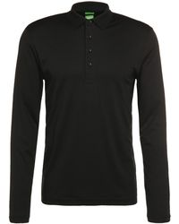 BOSS Green - Regular-fit Long-sleeved Polo Shirt In Pure Cotton: 'c-acciano 1' - Lyst