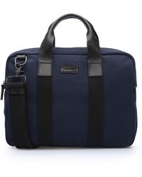 BOSS Orange - Work Bag In Canvas With Leather Detailing: 'adventure_s Doc' - Lyst