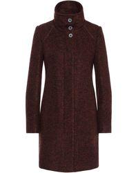 BOSS Orange - Coat In Mottled Fabric Blend With New Wool: 'okirana4' - Lyst
