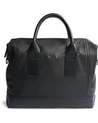 BOSS Orange - Business Bag In Grained Leather: 'streetline_s Doc' - Lyst