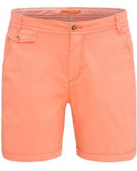 BOSS Orange - Relaxed-fit Chino Shorts In Stretch Cotton: 'sochina-d' - Lyst