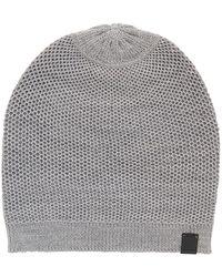 BOSS Orange - Birdseye-knit Beanie Hat - Lyst