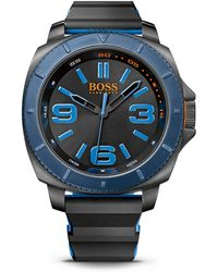 BOSS Orange - '1513108' | Silicone Strap 3-hand Quartz Sao Paulo Watch - Lyst