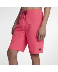 """Hurley - One & Only 2.0 21"""" Board Shorts - Lyst"""